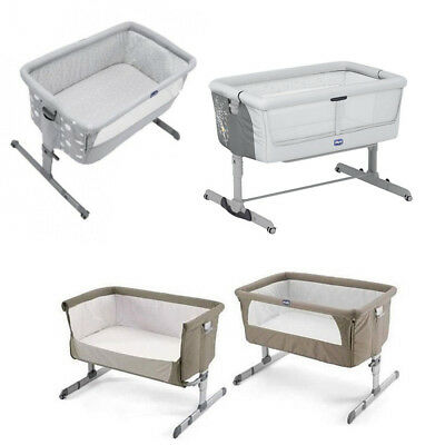CHICCO Next2Me Dream/Classic/Original Bed Side Baby Crib Travel Cot