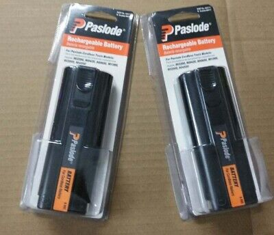 2XNew-Paslode 404717 Impulse Oval Rechargeable 6V Battery for IM200-F18, IM250-A