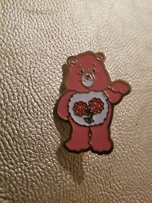 Vintage Collectible Pin: Care Bears Friend Bear