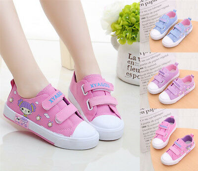 Fashion Children Girl Canvas Shoes For Kids Girl Princess Casual Shoes Sneakers