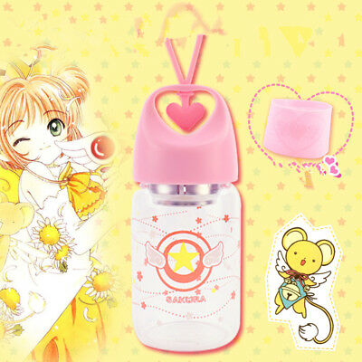 Card Captor Sakura Anime Portable Love Thermos cup Girls Outdoor Travel Cup