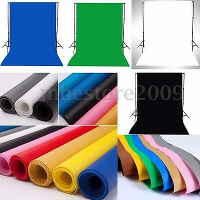 3x5ft Photography Backdrop Background Photo Stand Cotton Muslin Studio