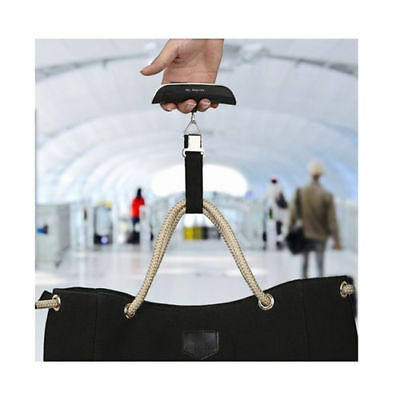 Luggage Scale Portable Digital LCD 110lb / 50kg Hanging Weight Travel Weight