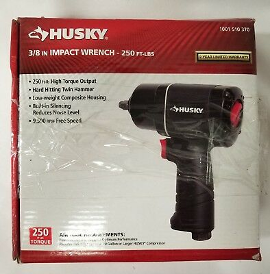 """Husky H4425 3/8"""" Drive 250 ft. lbs. Air Impact Wrench"""
