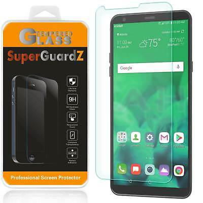 2X SuperGuardZ Tempered Glass Screen Protector Guard Shield Saver For LG Stylo 4