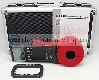 ETCR2100A+ Digital Clamp On Ground Earth Resistance Tester Meter 1-199Ω