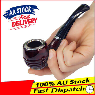 Washable Durable Enchase Double Filter Tobacco Cigarettes Filter Smoking Pipe