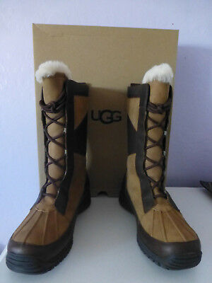 e47f534a7bf UGG AUSTRALIA MIXON Waterproof Women's Lined Snow Boot Size 10 New In Box