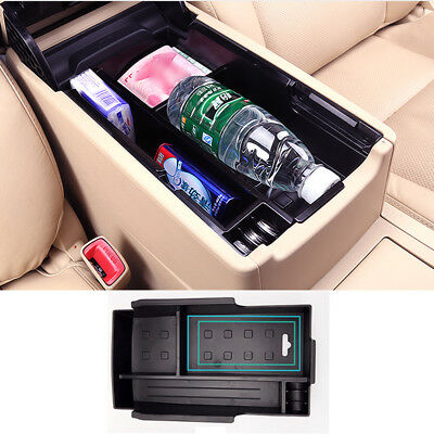 Fit For Toyota Camry 2012-2017 Amrest Storage Box Center Console Bin Glove Tray