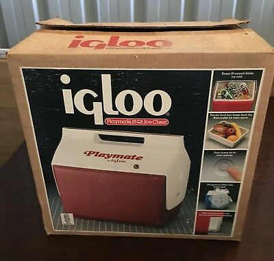 Retro Genuine Igloo Playate 15Qt Ice Chest / Esky **new**.make An Offer