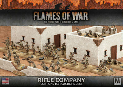 Flames of War: Fighting First - Rifle Company (Plastic)
