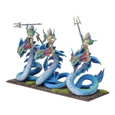 Kings of War Forces of Nature Naiad Wyrmriders Regiment