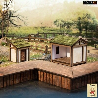 ColorED Scenery: Shed & Latrine