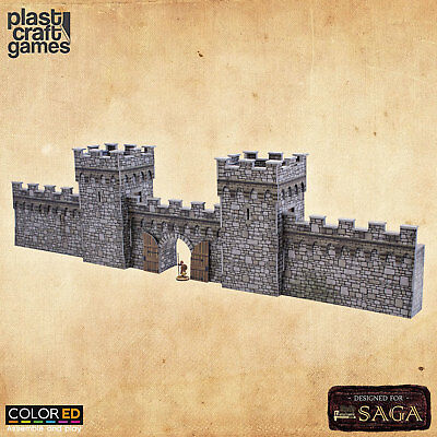 ColorED Scenery: Defensive Wall