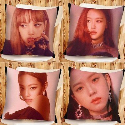 KPOP Blackpink SQUARE UP Album Double-Sided Throw Pillow Cushion Home Decor