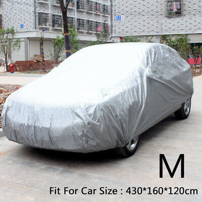 Universal Full Car Cover Medium M UV Protection Waterproof Car Clothing Outdoor