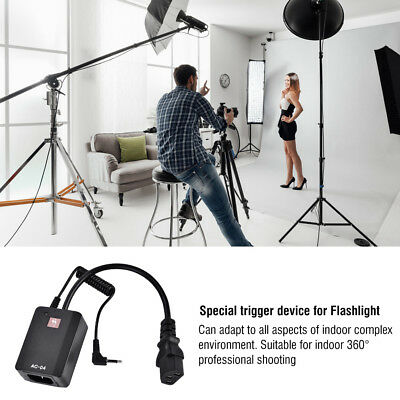 Wireless AC-04 Channels Flash Trigger Transmitter Receiver Set For DSLR Cameras