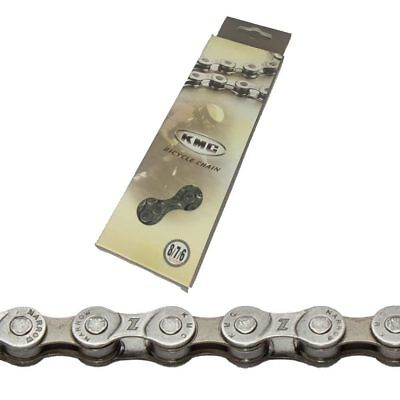 "KMC Z7 - 6 7 & 8 Speed MTB / Road Bike Chain 1/2"" x 3/32"" Silver 116 Links"