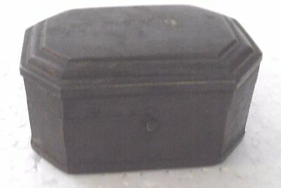 Old Brass Handcrafted Bettel Nuts Supari Box , Rich Patina