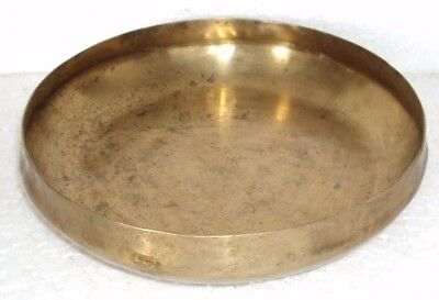 Old Brass Handcrafted Hand Forged Old vintage Old Singing Bowl Good Sound 002
