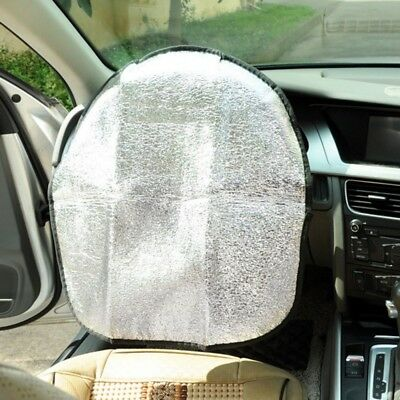 1 Pcs Car Truck Boat Steering Wheel Sun Shade Cover Double Thicken Foil Anti-Hot