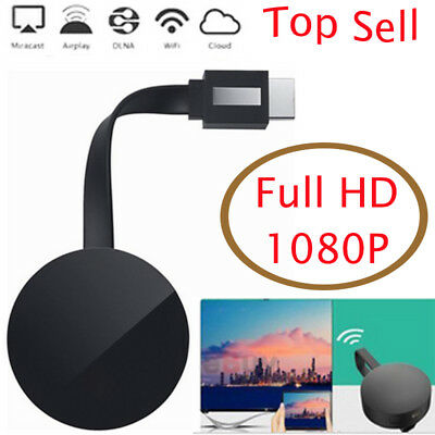 WiFi Digital HDMI Media Video Streamer For Google Chromecast 2nd Generation