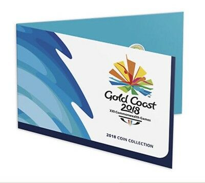 Gold Coast 2018 Commonwealth Games $2 & $1 Coin Collectors Album - 7 Coin Set