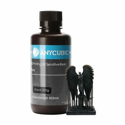 ANYCUBIC Black Color 405nm UV Sensitive Resin for SLA Photon 3D Printer 500g DE