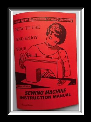 JONES BROTHER WESTMINSTER Model 671 Sewing Machine Instruction Manual Booklet