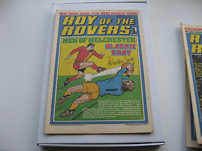 BIRTHDAY BOX SET 40th Package- Roy of the Rovers 23rd JULY 1978 with free gifts