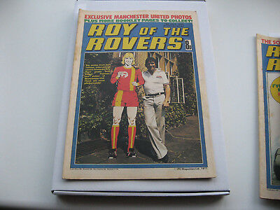 BIRTHDAY BOX SET 40th Package- Roy of the Rovers 16TH JULY 1978 with free gifts