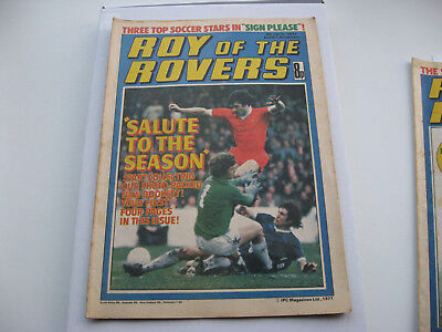 BIRTHDAY BOX SET 40th Package- Roy of the Rovers 9TH JULY 1978 with free gifts