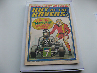BIRTHDAY BOX SET 40th Package- Roy of the Rovers 2ND JULY 1978 with free gifts