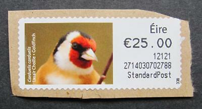 Ireland €25.00 Post and Go Label unfranked