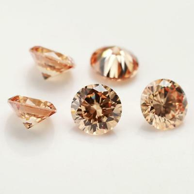 50x 3.25mm loose cubic zirconia gemstone cz stone Round shape 4Colors Jewel S4Z3