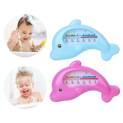 Safety Floating dolphin Baby Bath Thermometer Measure Water Temperature Tool UK