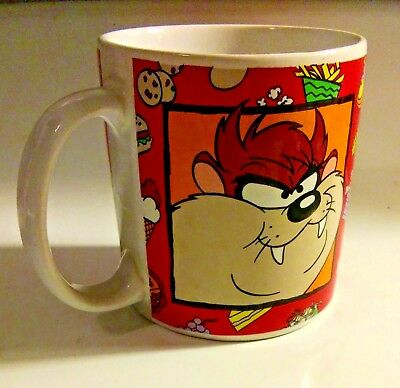 1994 Tazmanian Devil Coffee Cup Mug Warner Brothers, Looney Tunes- Sakura