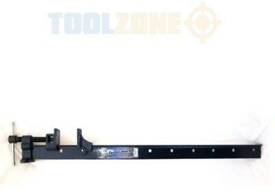 """Toolzone 36"""" Cast Iron Jaws Steel Section T-Bar Sash Clamp CL119"""