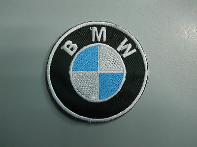 BMW Emblem Patch Embroidered Thermoadhesive Diameter 7 CM