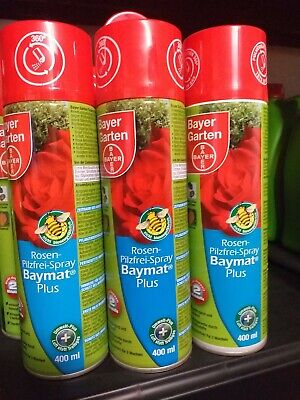 Bayer Rosen Pilzfrei Baymat Plus  Spray 400ml Doppelpack 2x 400ml