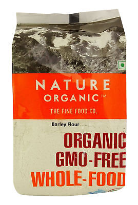 Nature Organic Barley Flour 17.64 Ounce - USDA Certified-NO-FLO2A