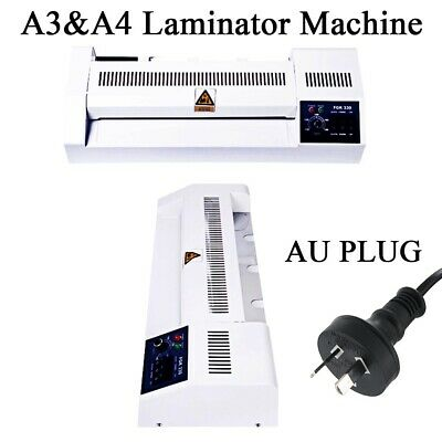 Home Office A3 A4 Document Laminator Thermal Cold Hot Laminating Roller Machine