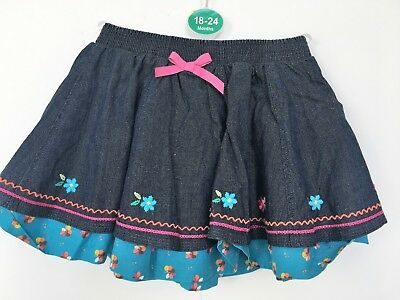 BNWOT Gymboree Denim Skirt. Girls. Age 18 - 24  months