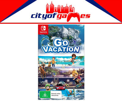 Go Vacation Nintendo Switch Brand New & Sealed
