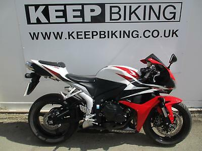 2008 Honda Cbr600Rr 18675 Miles. Smoked Screen. Crash Bobbins.