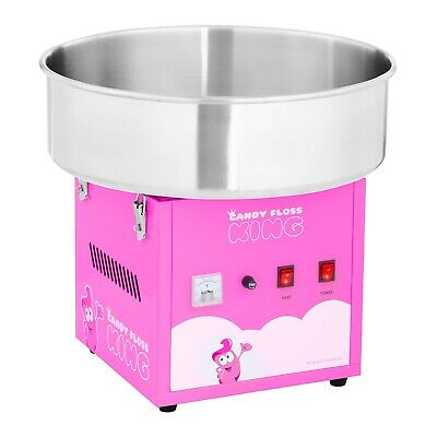 Commercial Candy Floss Machine Spit Protection Cotton Candy Machine New Pink