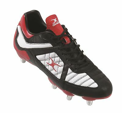 Clearance Line New Gilbert Rugby Blitz 6 Stud Junior Rugby Boots Size 4