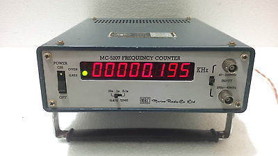 MRC MC-5207 Frequency Counter 20Hz-520MHz Made in Japan