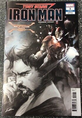 Tony Stark: Iron Man #1 (2018) Premiere Variant Cover. Limited 2 Per Store.