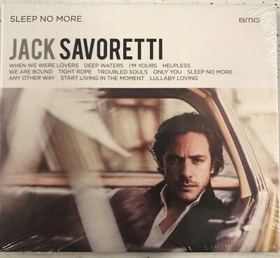 Jack Savoretti - Sleep No More NEW AND SEALED CD